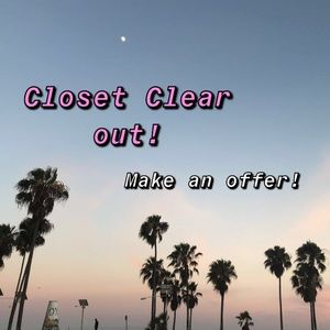 ✨CLOSET CLEAROUT✨